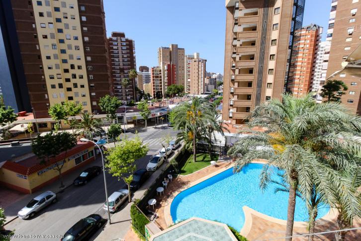 Испания бенидорм квартира
