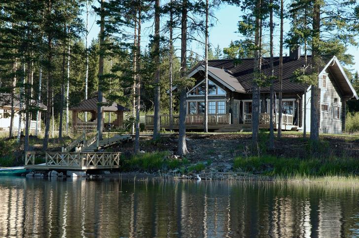 Продажа коттеджа в финляндии дом за рубежом недорого