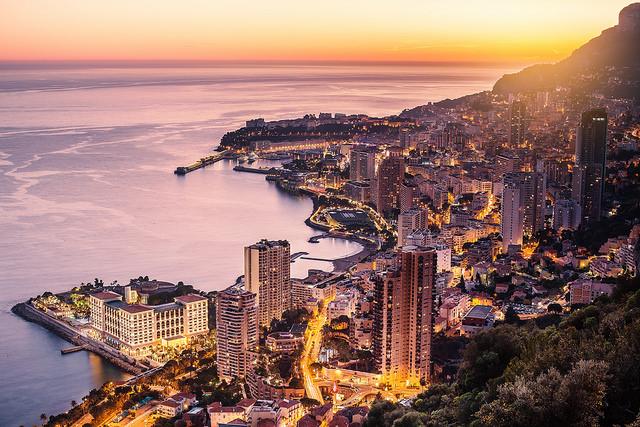 Ницца Монако как добраться на машине поезде или автобусе