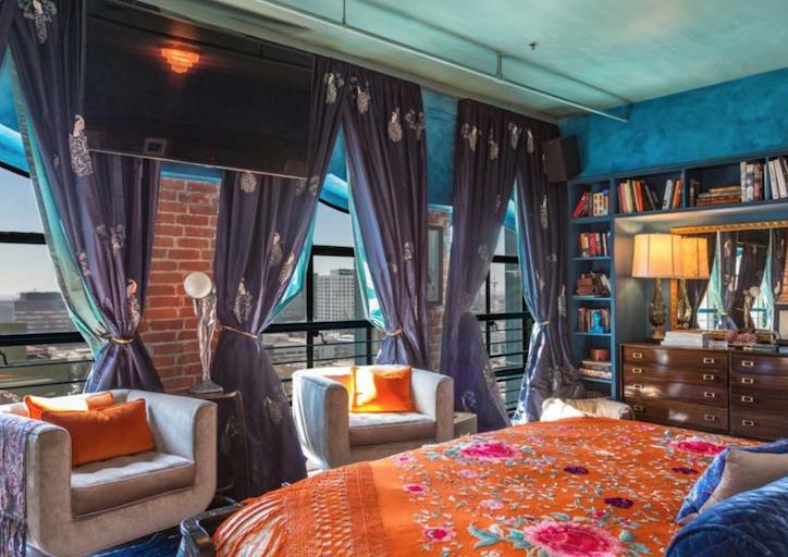 Джонни Депп реализует собственный необычайный пентхаус вЛос-Анджелесе за12 млн долларов