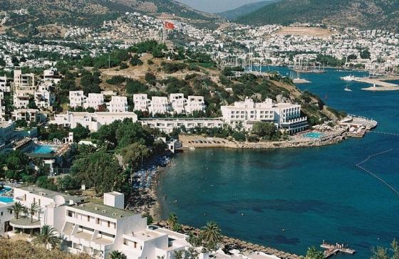 Бодрум - популярный курорт на эгейском побережье Турции